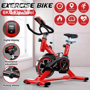 Exercise Bike With LCD Monitoring Weight Loss Spinning Bike | Sports Equipment for sale in Rivers State, Port-Harcourt