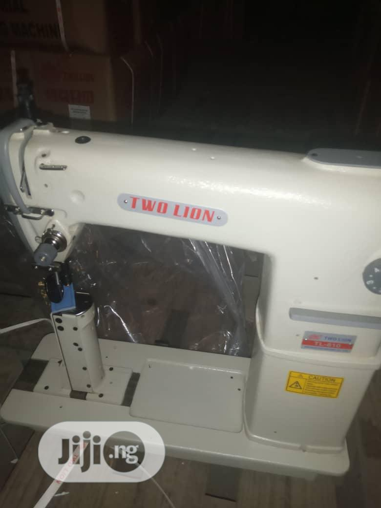 Archive: Single Needle, Postbed Sewing Machine