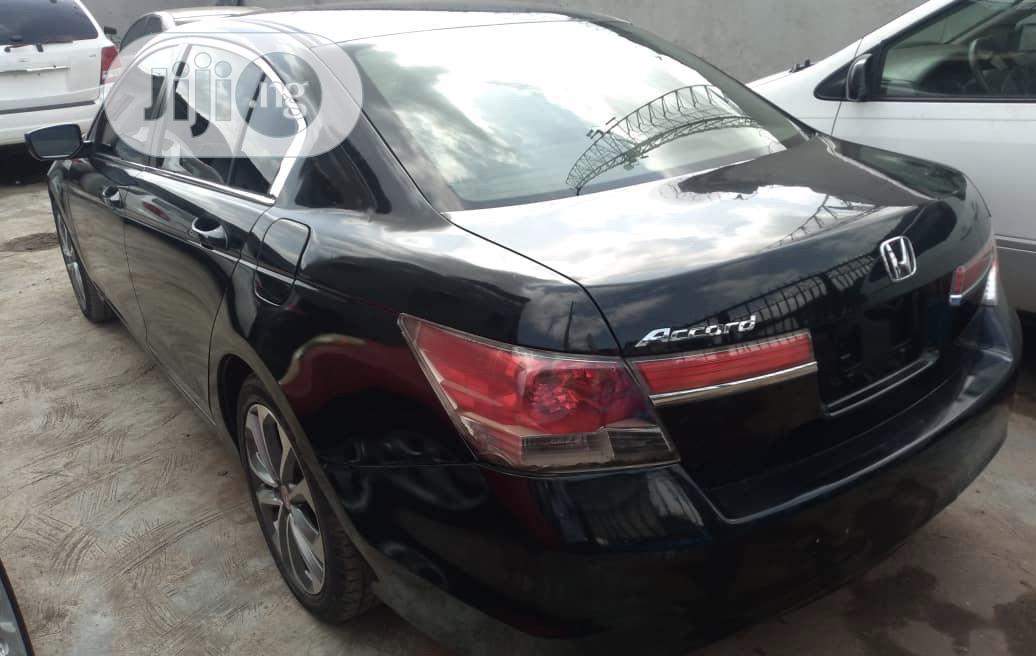 Honda Accord 2012 Sedan LX Black   Cars for sale in Ifako-Ijaiye, Lagos State, Nigeria