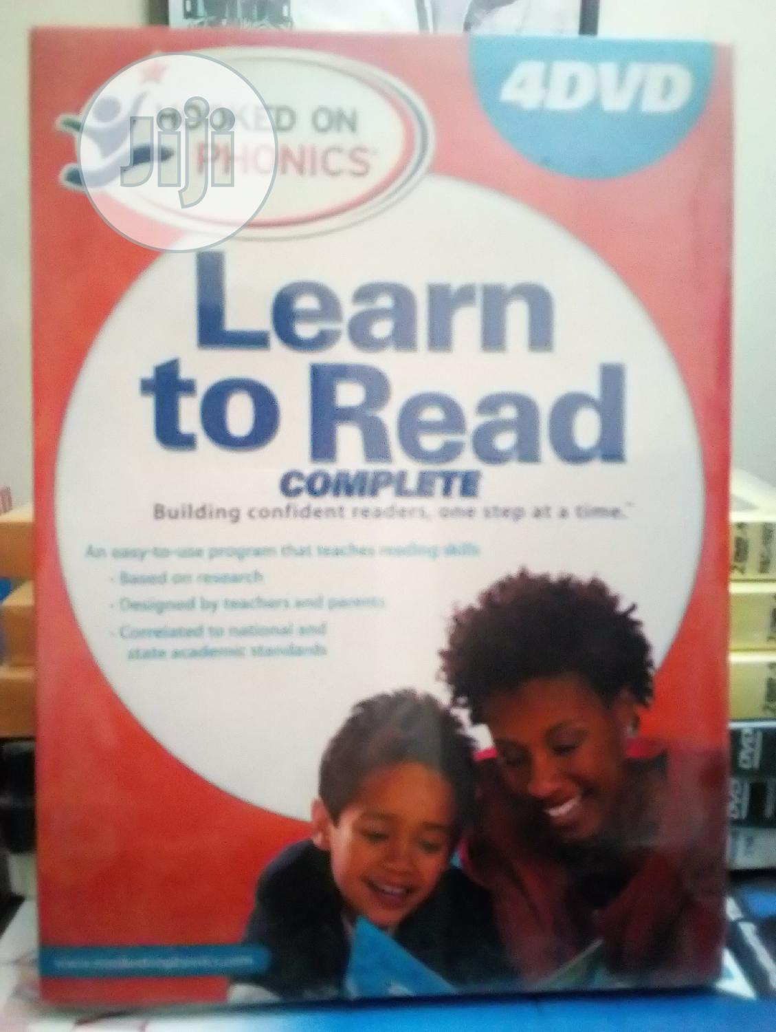 Learn To Read Hooked On Phonics(4dvds)