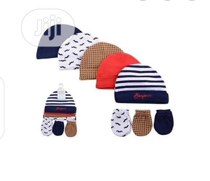 Hudson Baby Cap And Mitten Set