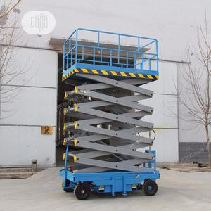 Mobile Scissor Lift 14 Meter   Heavy Equipment for sale in Lagos State, Ikeja