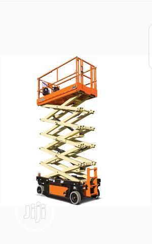 Mobile Slscissor Lift 12 Meter   Heavy Equipment for sale in Lagos State, Ikeja