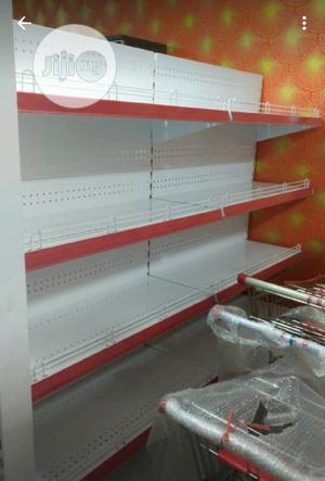 Original Imported Super Market Double Shelve   Furniture for sale in Lagos State, Ikeja