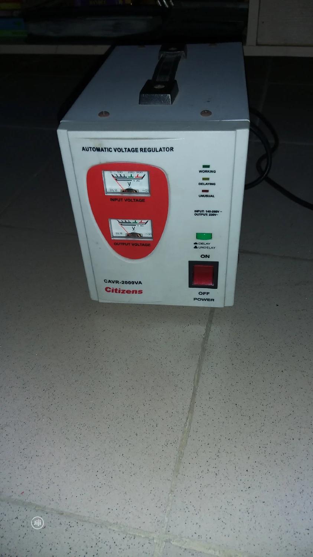 2000VA Citizens Stabilizer/Automatic Voltage Regulator | Electrical Equipment for sale in Ikorodu, Lagos State, Nigeria