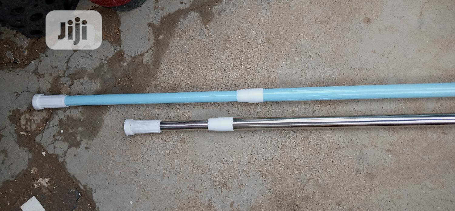 Straight Shower Curtain Rod | Building Materials for sale in Wuse, Abuja (FCT) State, Nigeria