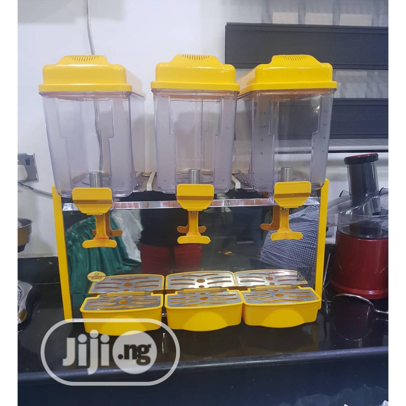 Archive: Cold Juice Dispenser 18lx3 Tanks