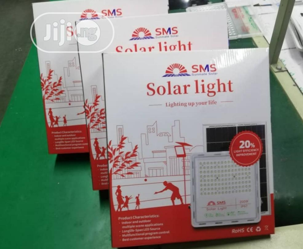 Archive: SMS 200w Solar Flood Light