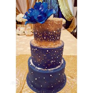 Delicious Fondant Wedding Cake For Events   Wedding Venues & Services for sale in Lagos State, Ikeja
