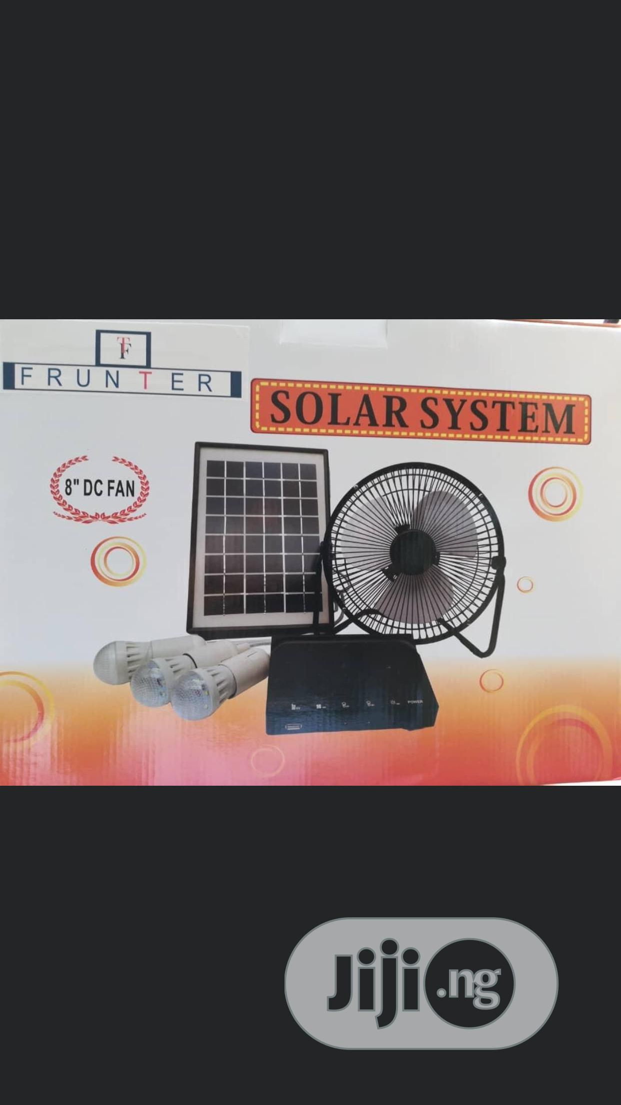 Solar Generator With 6bulbs and Panel