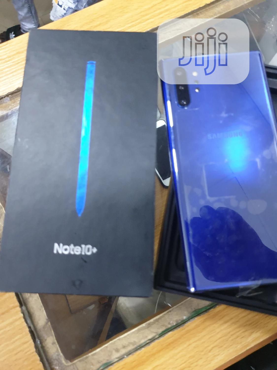New Samsung Galaxy Note 10 Plus 5G 256 GB Blue | Mobile Phones for sale in Ikeja, Lagos State, Nigeria