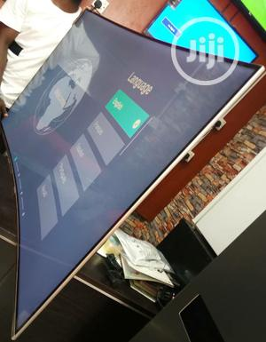 Hisense UHD Smart Curved LED TV 55-inch Series 7 Ultra Slim | TV & DVD Equipment for sale in Lagos State, Ojo
