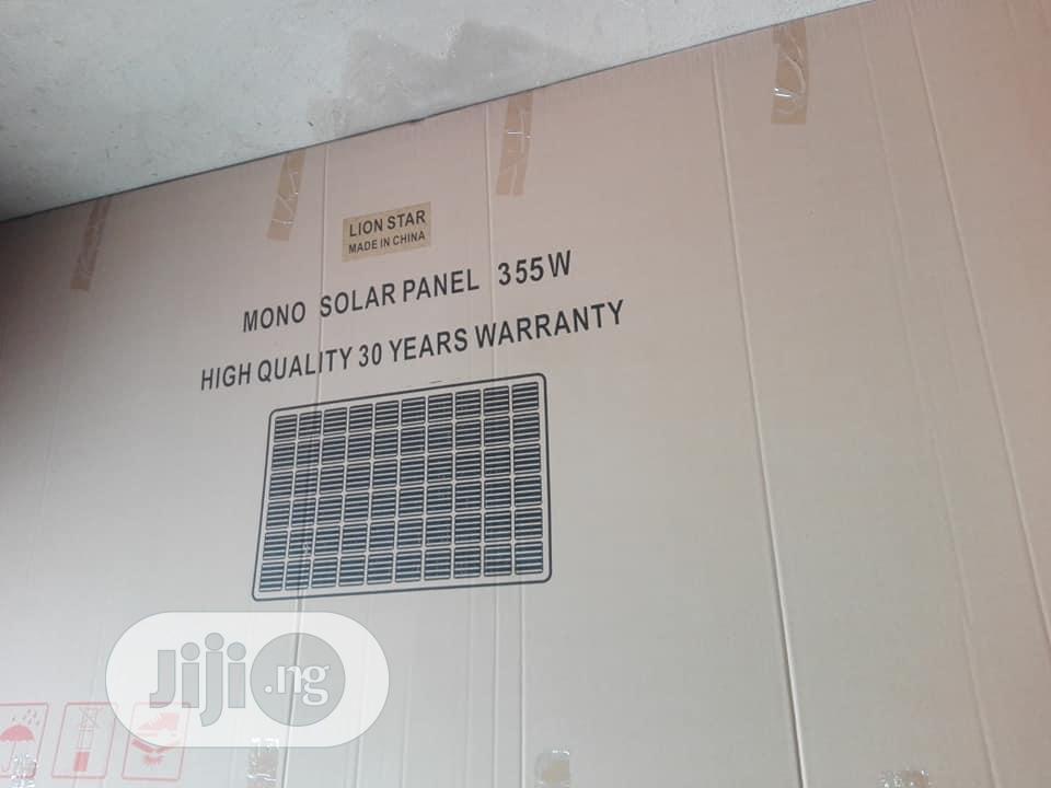 Archive: 355watts Solar Panel