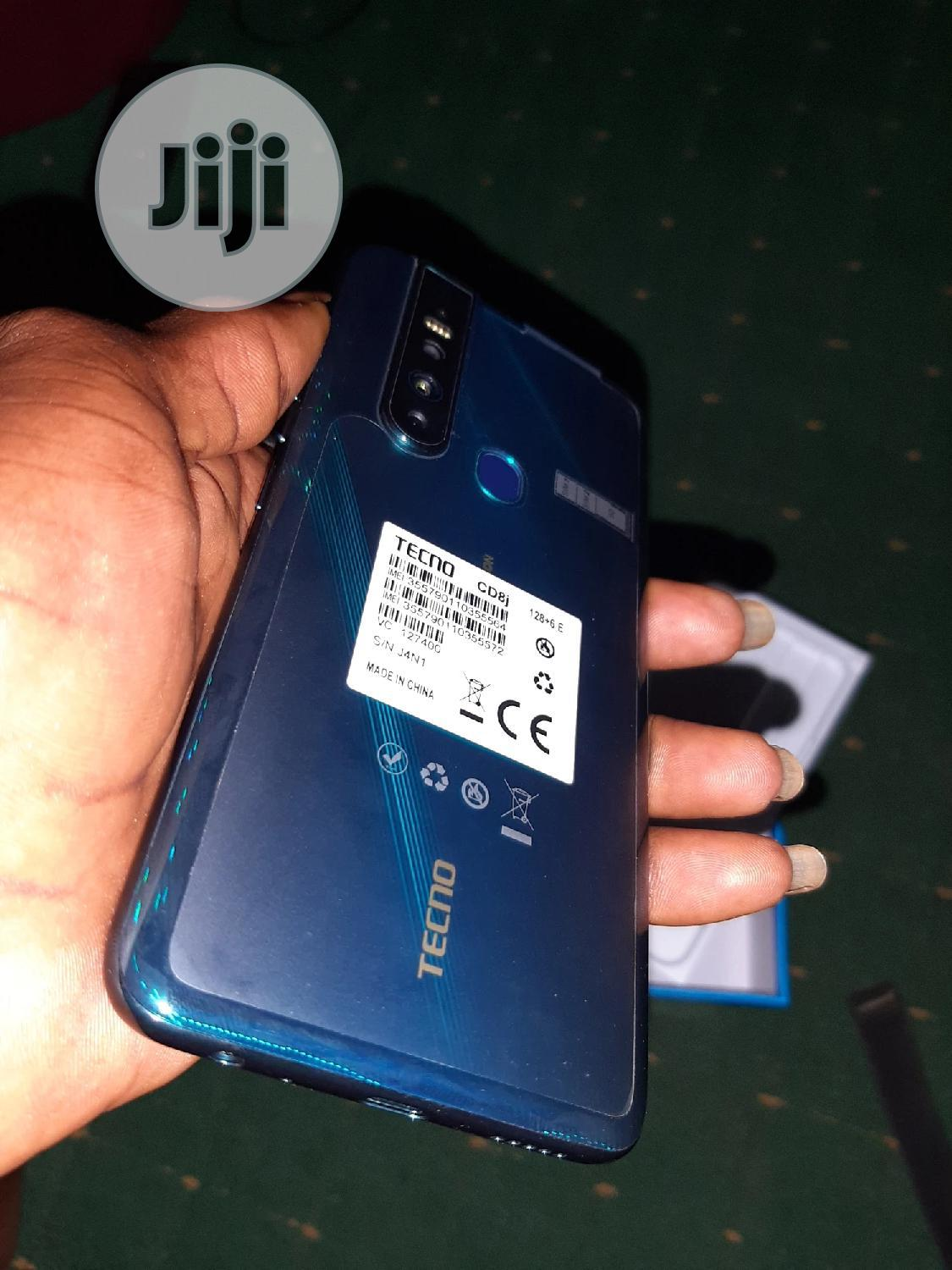 New Tecno Camon 15 Premier 128 GB Blue | Mobile Phones for sale in Ifako-Ijaiye, Lagos State, Nigeria