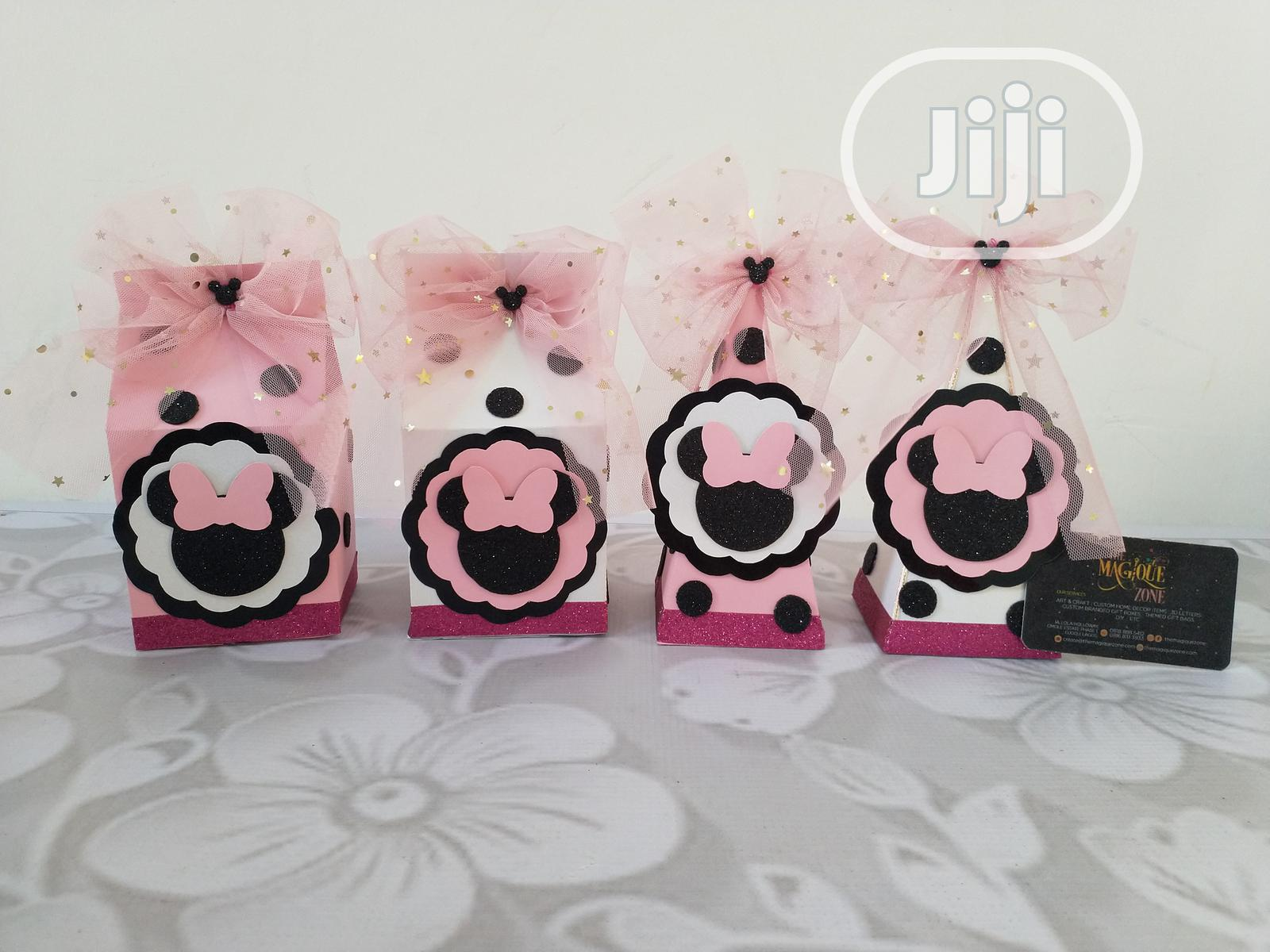 Archive: Minie Mouse Theme Treat Box