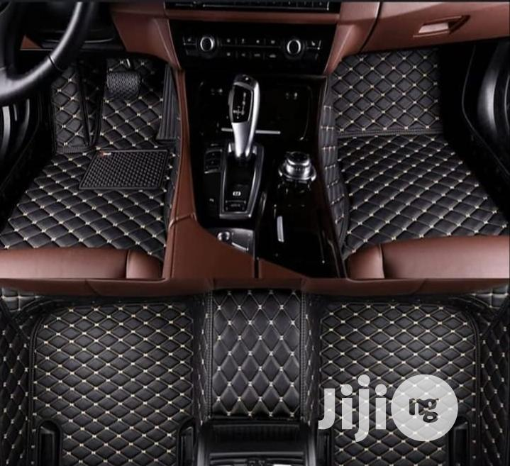 9D Leather Luxury Floormat