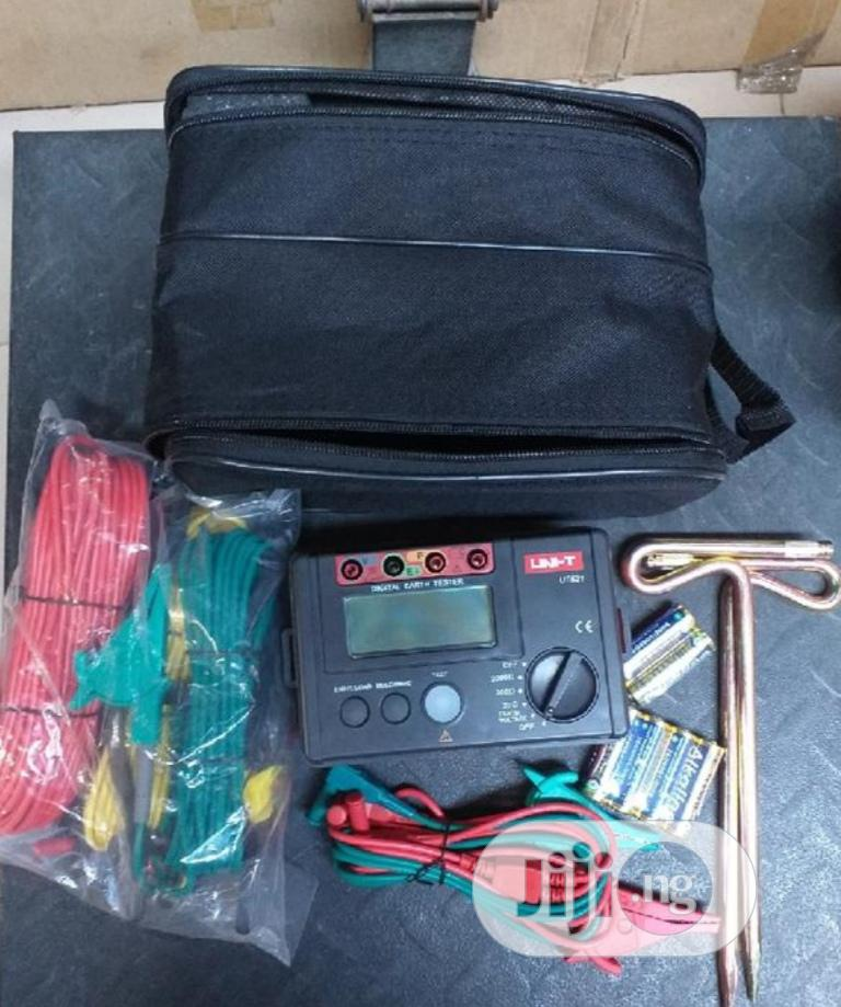 UNI-T Digital Earth Resistance Tester   Measuring & Layout Tools for sale in Ojo, Lagos State, Nigeria