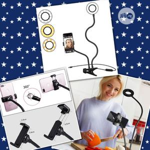Phone Holder With Ring Light For Selfie/Livestream/Makeup.   Accessories & Supplies for Electronics for sale in Lagos State, Oshodi
