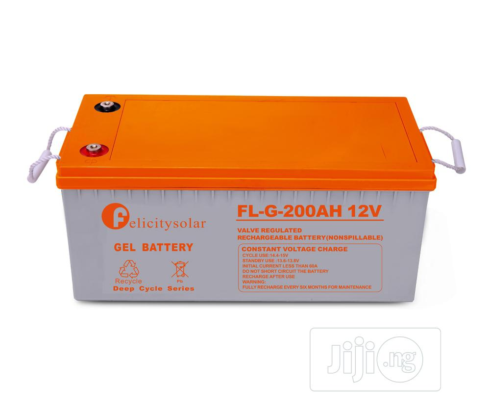 Felicity Solar Gel Battery 12V/200AH