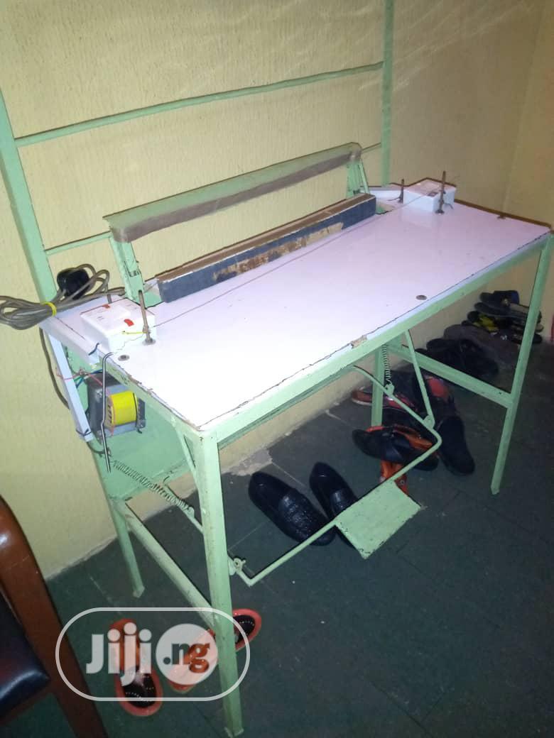 Manual Pedal Nylon Cutting And Sealing Machine   Manufacturing Equipment for sale in Amuwo-Odofin, Lagos State, Nigeria