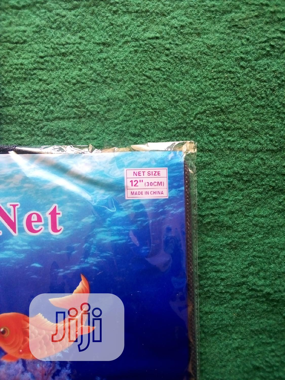Fish Scoop Net (12inches) | Pet's Accessories for sale in Alimosho, Lagos State, Nigeria