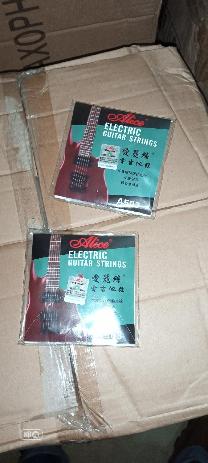 Archive: Electric Guitar Strings