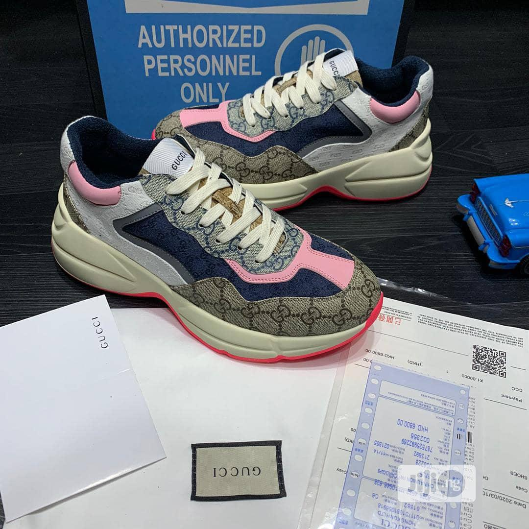 New Gucci Sneakers Available In Sizes