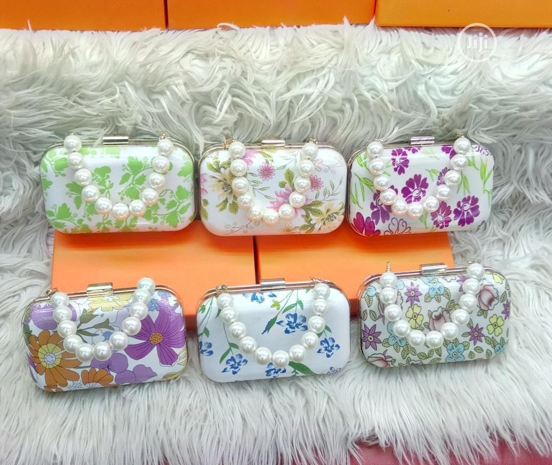 Lovely Flowered Clutch Purse