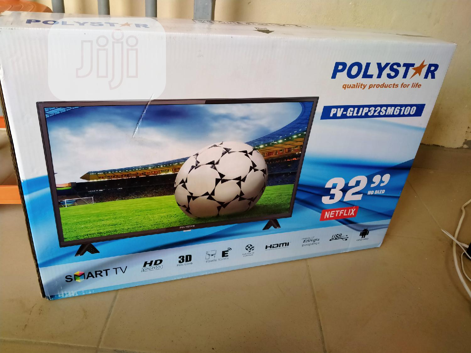 Polystar 32 Inch Smart Tv | TV & DVD Equipment for sale in Wuse, Abuja (FCT) State, Nigeria