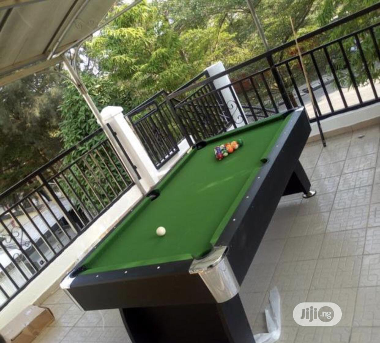Archive: Snooker Table With Accessories
