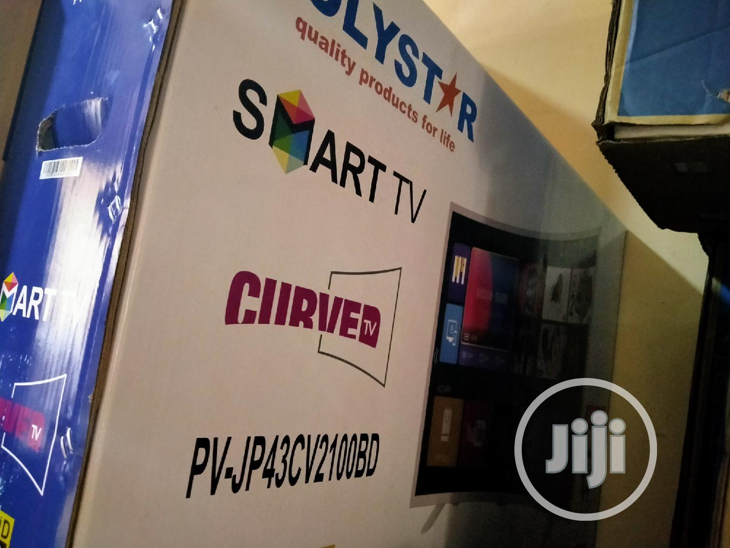 Polystar 43 Inches Smart Curve | TV & DVD Equipment for sale in Wuse, Abuja (FCT) State, Nigeria
