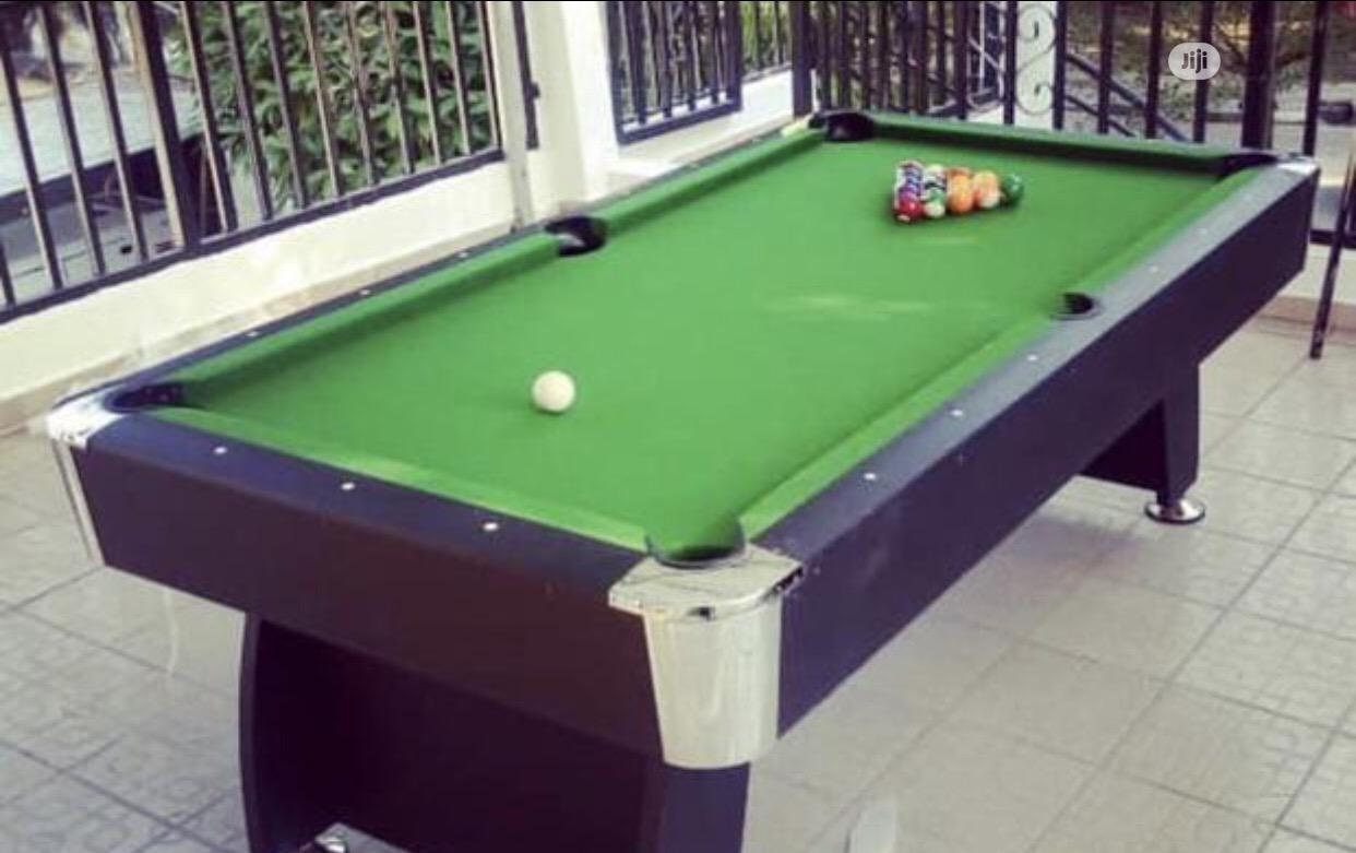 Archive: Snooker Board With Accessories