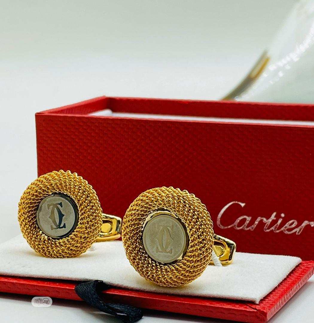 Cartier Quality Cufflinks