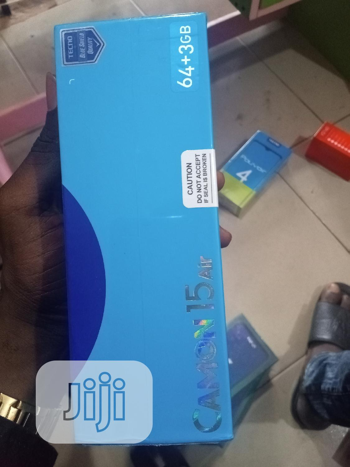 New Tecno Camon 15 64 GB   Mobile Phones for sale in Okigwe, Imo State, Nigeria