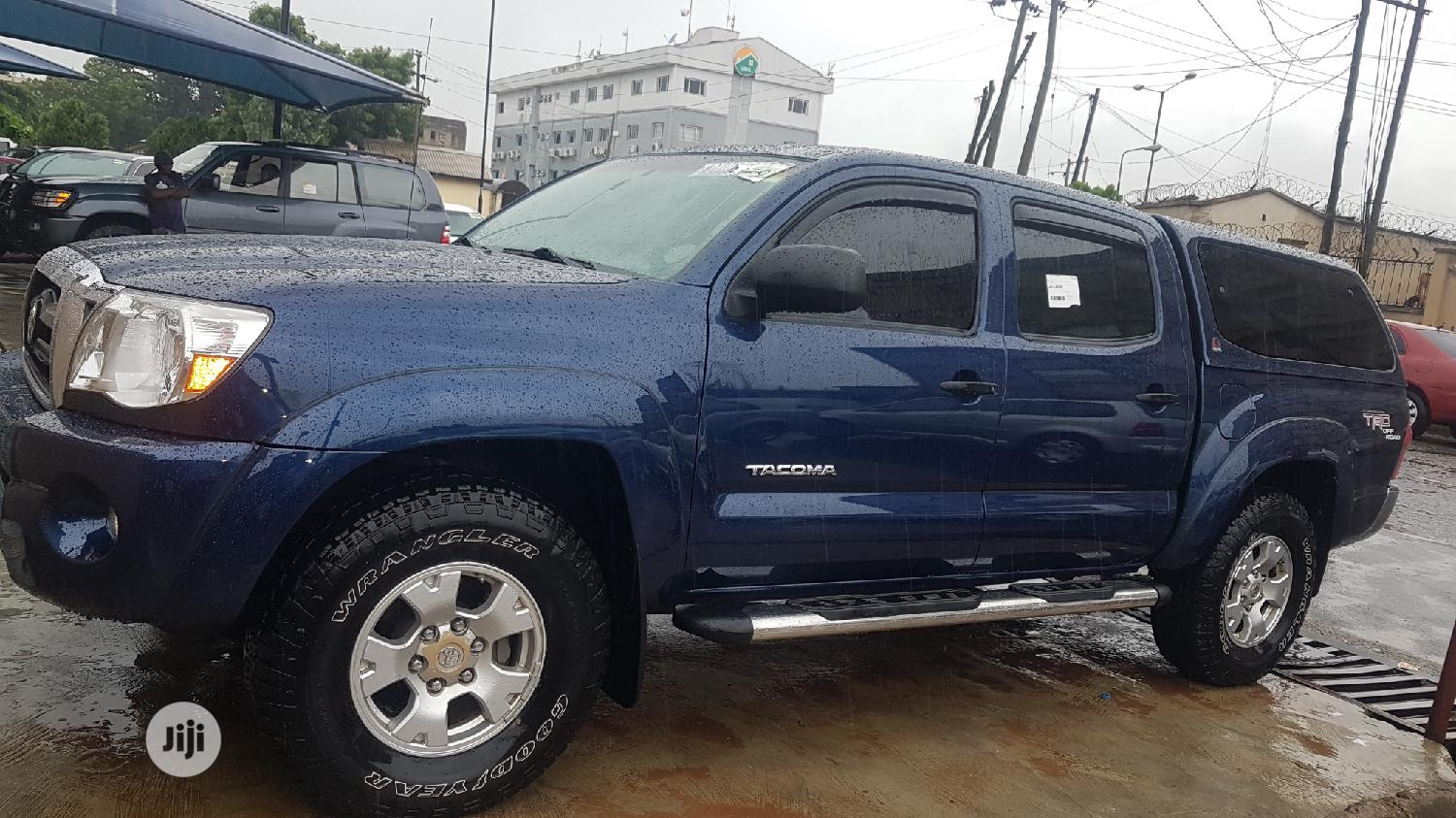 Toyota Tacoma 2008 4x4 Double Cab Blue | Cars for sale in Ikeja, Lagos State, Nigeria