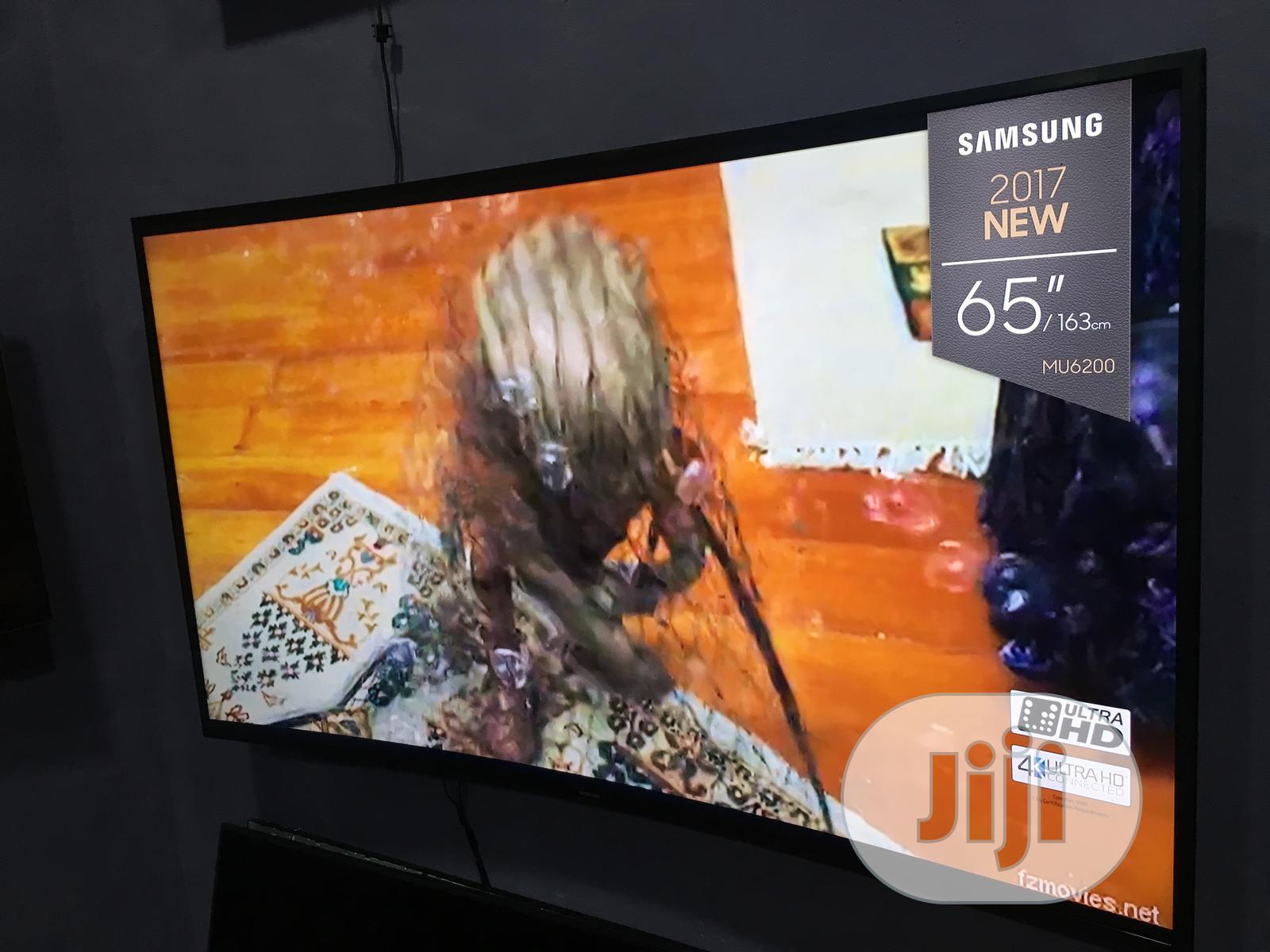 "Samsung 65"" Curved 4k Uhd Smart Tv"