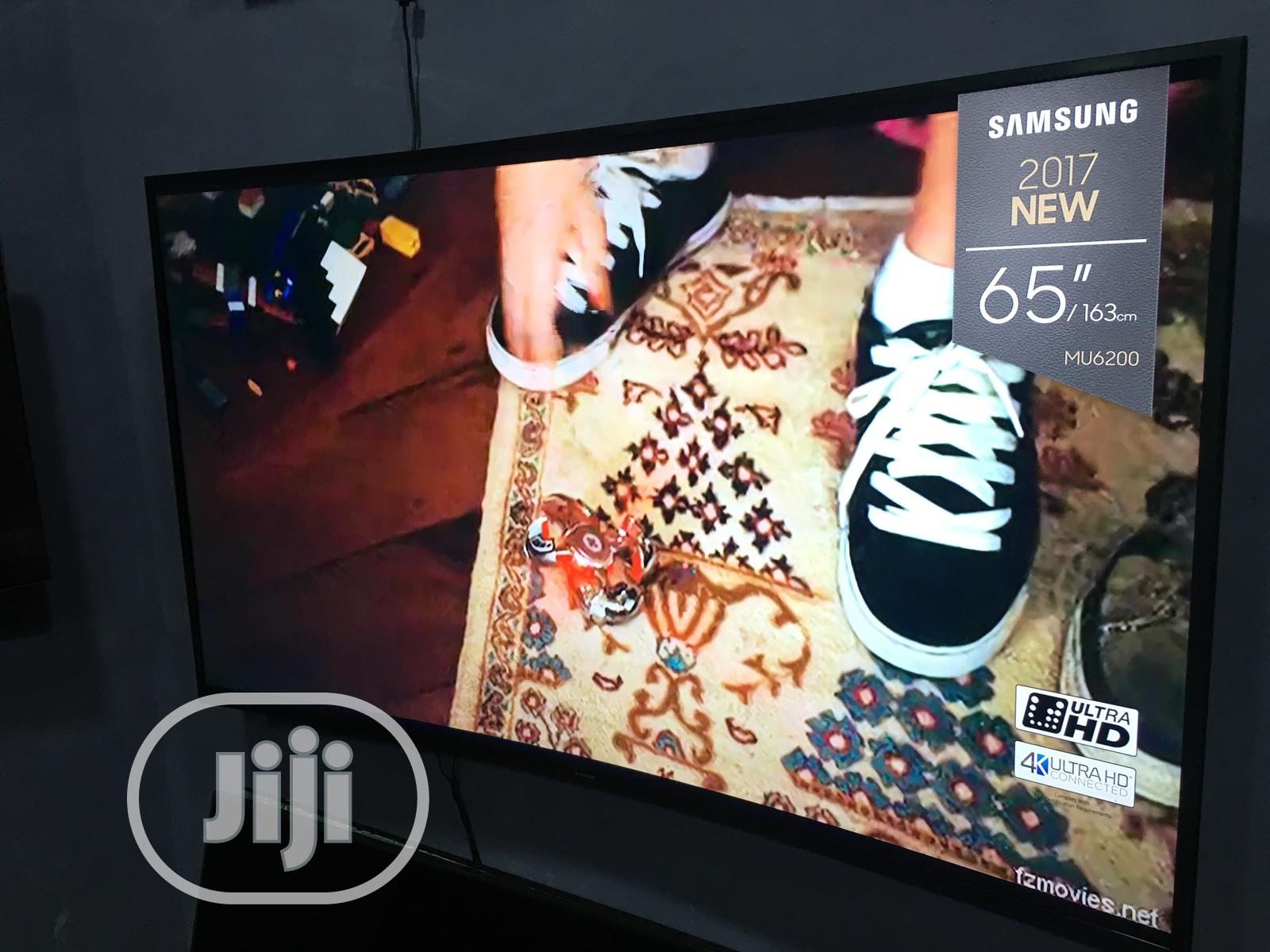 """Samsung 65"""" Curved 4k Uhd Smart Tv 