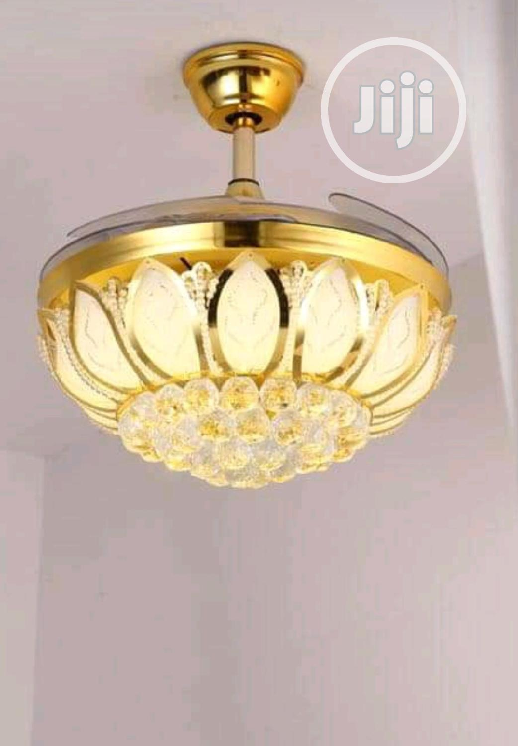 Archive: Crystal Led Chandelier With Fan