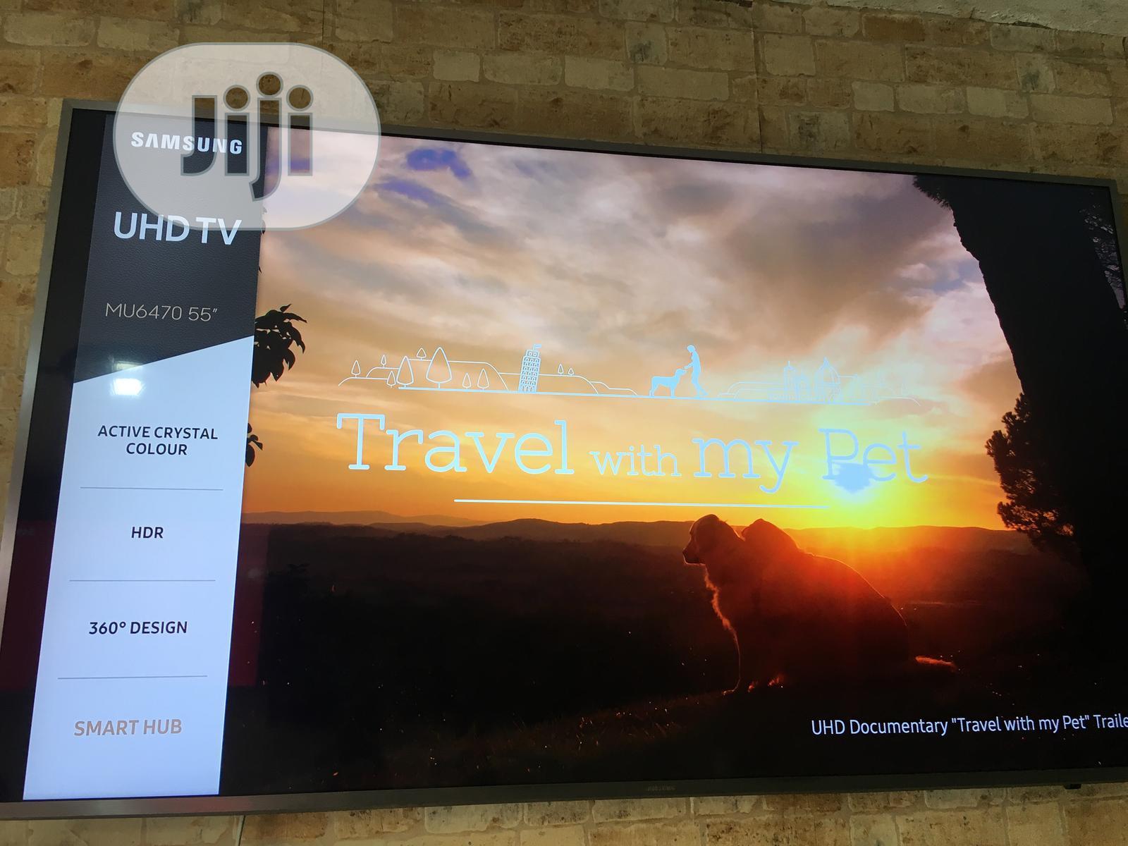 "Samsung 55"" Ultra Slim 4k Uhd Smart Tv"