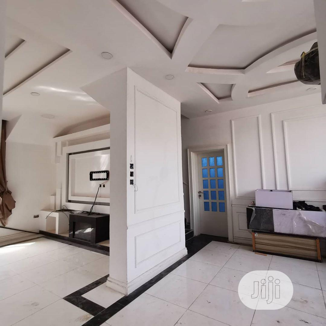 POP Ceiling, Wall Screeding And Wall Designs, TV Stand, Wine Bar | Building & Trades Services for sale in Gwarinpa, Abuja (FCT) State, Nigeria