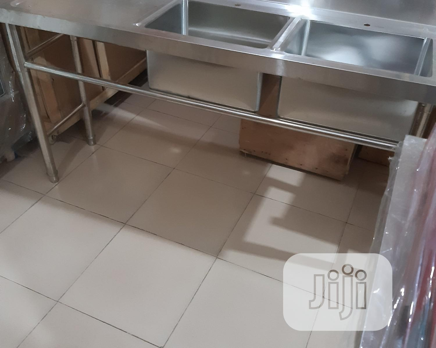 Stainless Working Sink