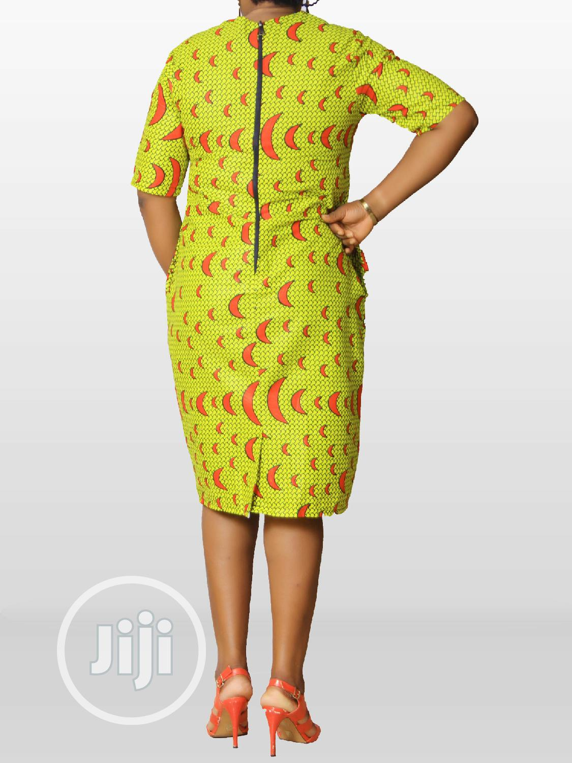 Ankara Female Fitted Dress | Clothing for sale in Ikeja, Lagos State, Nigeria