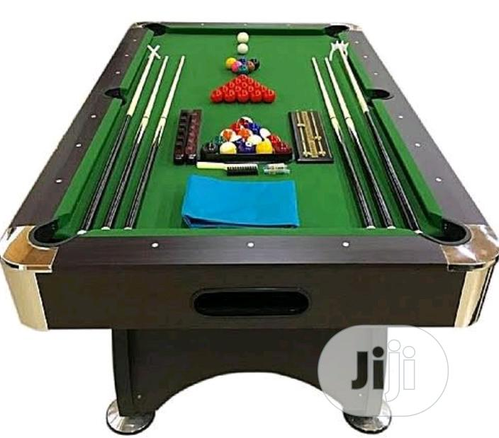 Archive: 8ft Snooker Table Borad