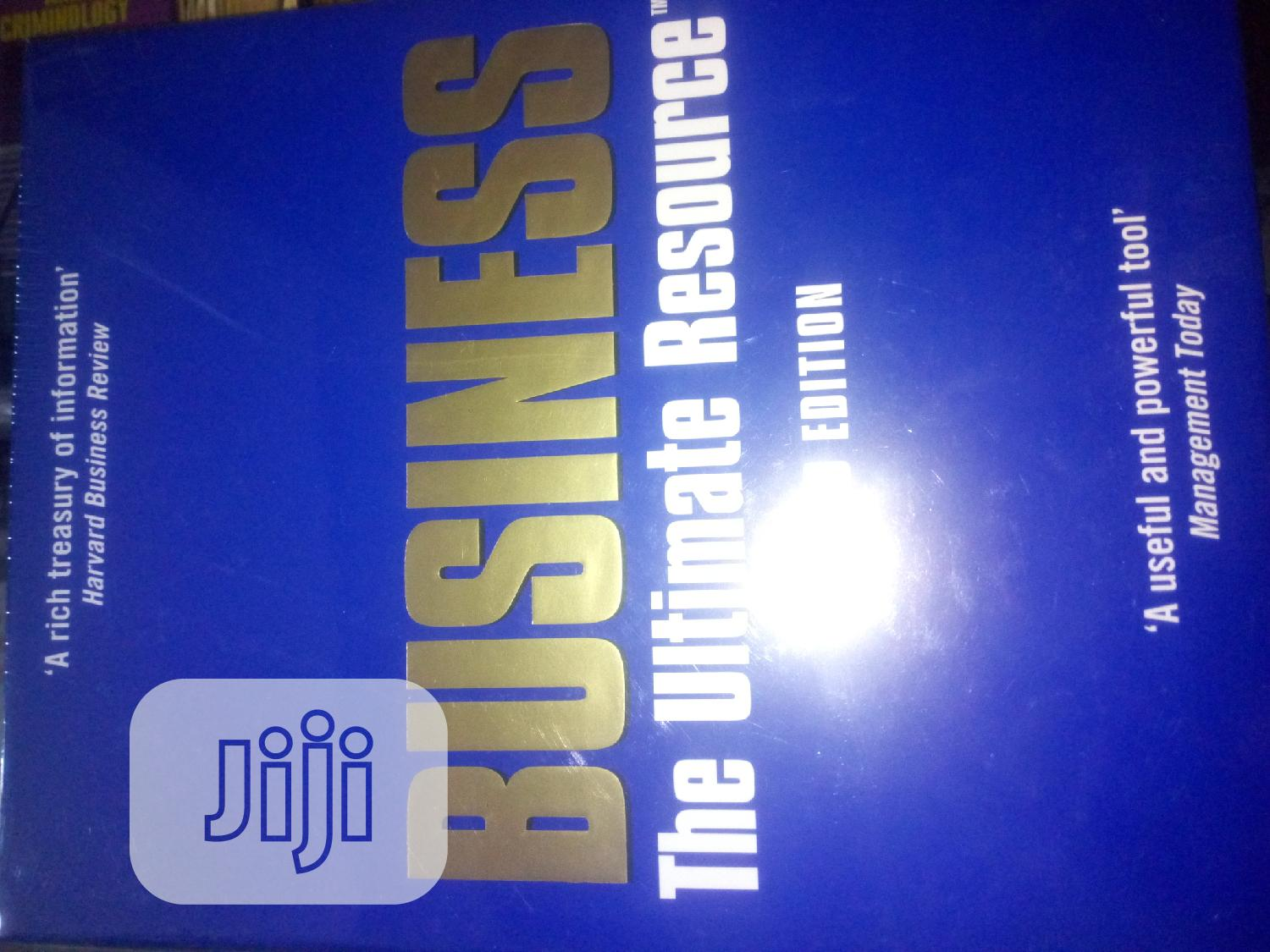 Business :The Ultimate Resource