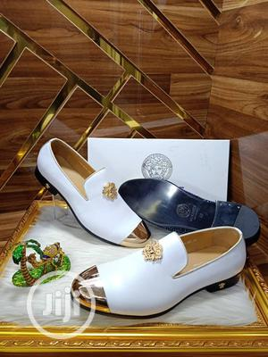 Quality Italian White Versace Loafers   Shoes for sale in Lagos State, Surulere