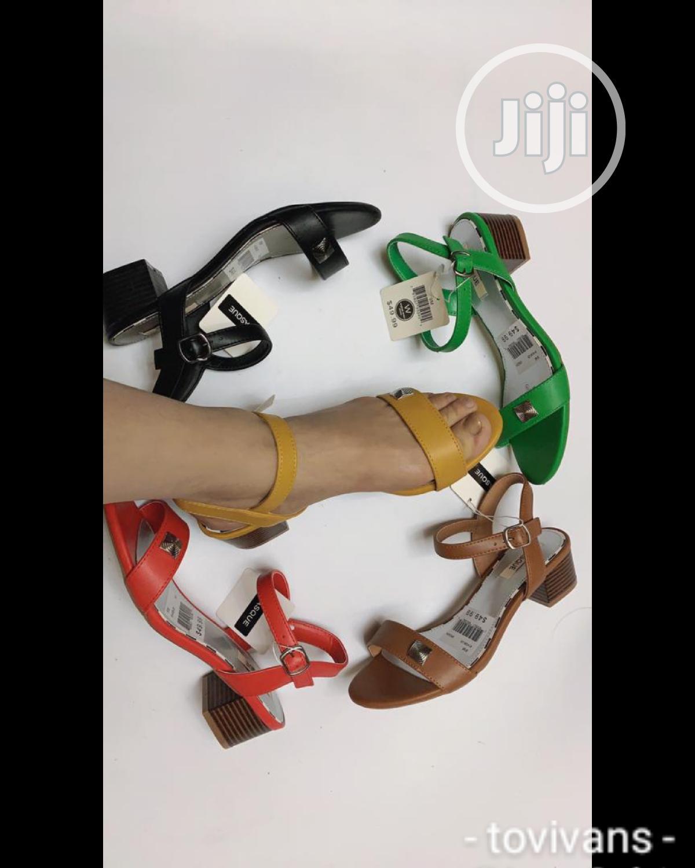 Tovivans Low Heel Sandals
