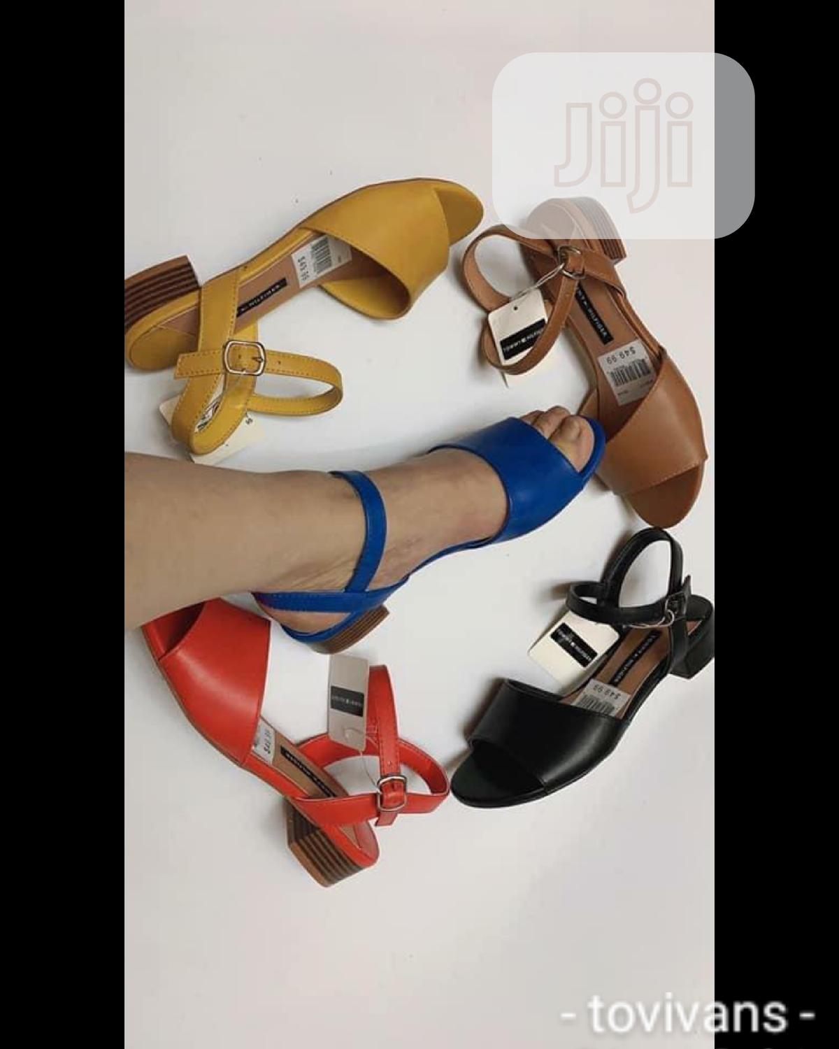 Tovivans Low Heel Sandals   Shoes for sale in Ikeja, Lagos State, Nigeria