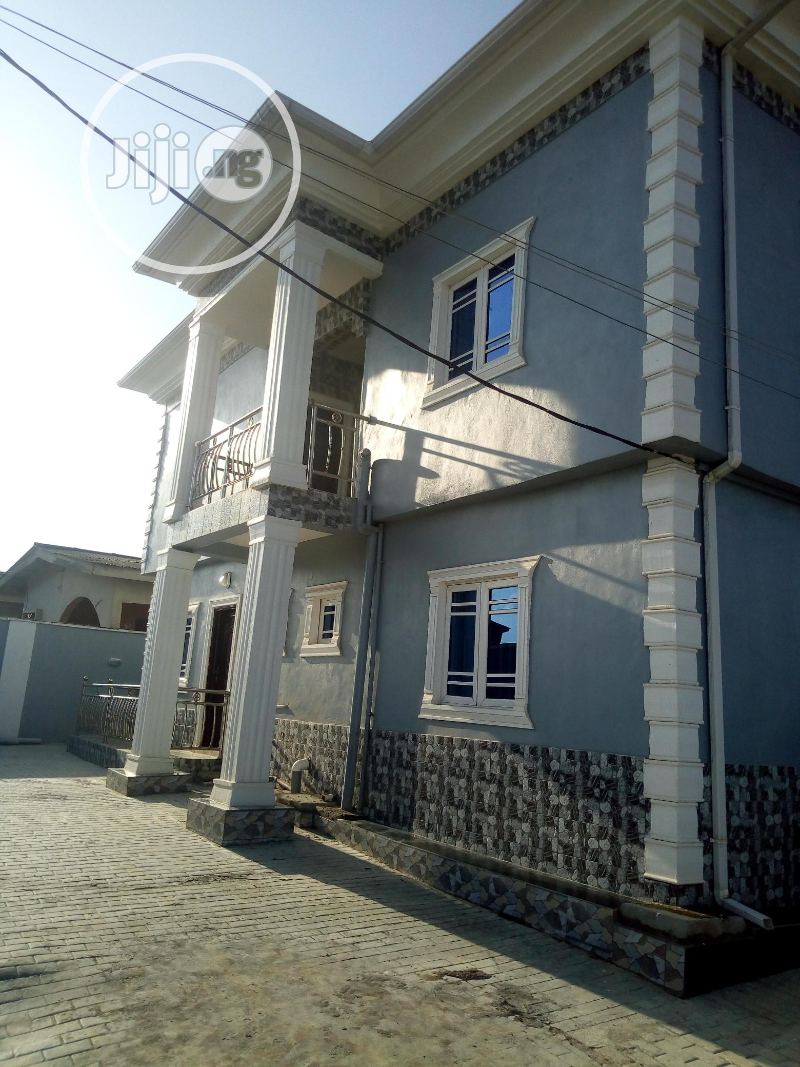 Brand New 2bedroom Flat Up For Rent At Fatoki Igando.