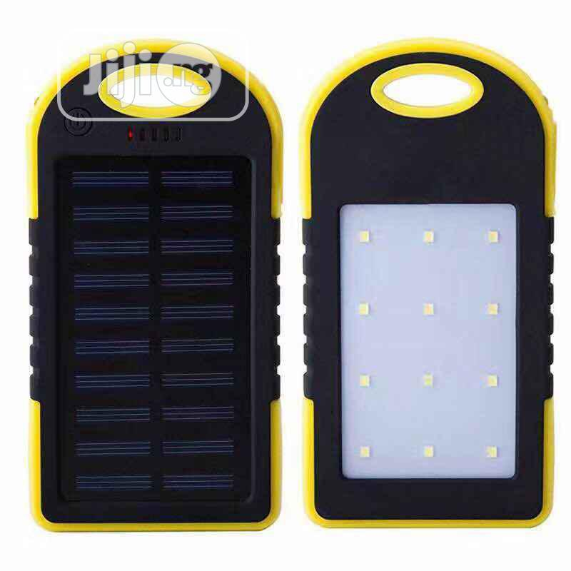 Solar Power Bank 20000mah | Solar Energy for sale in Surulere, Lagos State, Nigeria