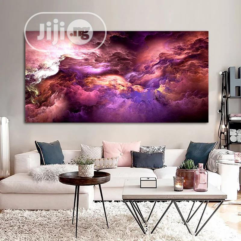 Colorful Artwork Canvas Pictures With Frame